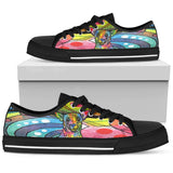 Chihuahua Men's Low Top Canvas Shoes - Dean Russo Art