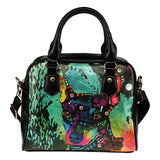 Miniature Pinscher Shoulder Handbag - Dean Russo Art - Jill 'n Jacks