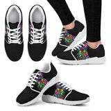 Schnauzer Design Women's Athletic Sneakers - Dean Russo Art