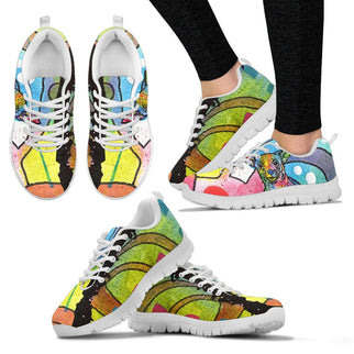 Chihuahua Design Women's Sneakers - Dean Russo Art - Jill 'n Jacks