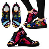 Beagle Design Women's Sneakers - Dean Russo Art