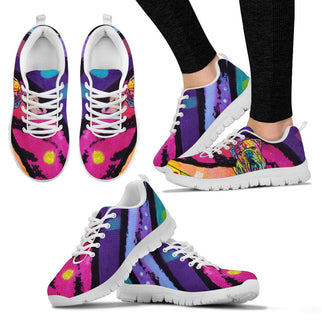 Bulldog Design Women's Sneakers - Dean Russo Art - Jill 'n Jacks