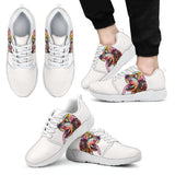 Cocker Spaniel Design Men's Athletic Sneakers - Dean Russo Art