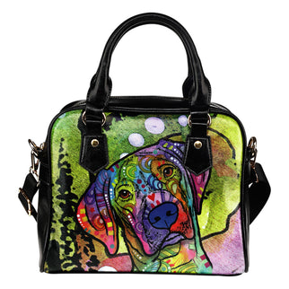 Vizsla Shoulder Handbag - Dean Russo Art