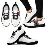 Bulldog Design Women's Sneakers - Dean Russo Art