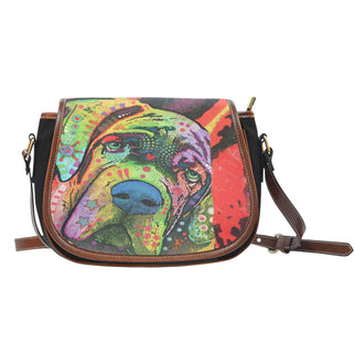 Mastiff Saddle Bag - Dean Russo Art
