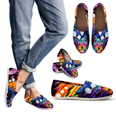 Westie Design Women's Casual Shoes- Dean Russo Art - Jill 'n Jacks