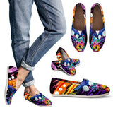 Westie Design Women's Casual Shoes- Dean Russo Art