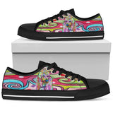 Poodle Men's Low Top Canvas Shoes - Dean Russo Art - Jill 'n Jacks