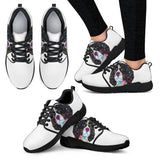 Cavalier King Charles Spaniel Design Women's Athletic Sneakers - Dean Russo Art