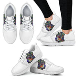 Rottweiler Design Women's Athletic Sneakers - Dean Russo Art
