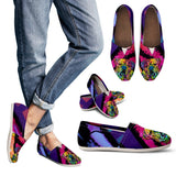 Bulldog Design Women's Casual Shoes - Dean Russo Art - Jill 'n Jacks
