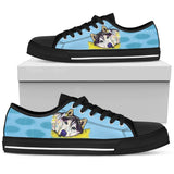Husky Women's Low Top Canvas Shoes - Dean Russo Art