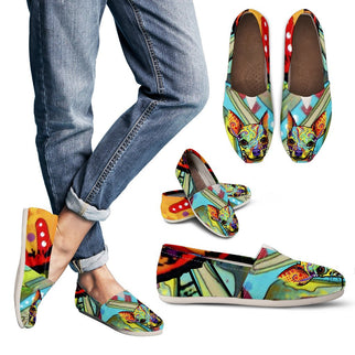 Chihuahua Design Women's Casual Shoes - Dean Russo Art - Jill 'n Jacks