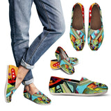 Chihuahua Design Women's Casual Shoes - Dean Russo Art