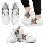Boston Terrier Design Men's Athletic Sneakers - Dean Russo Art - Jill 'n Jacks
