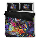 Rottweiler Bedding Set - Duvet Cover and Two Pillowcases - Dean Russo Art