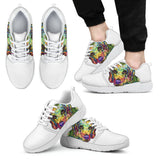 Beagle Design Men's Athletic Sneakers - Dean Russo Art