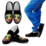 Beagle Design Kids Slip Ons - Dean Russo Art