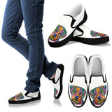 Maltese Design Men's Slip Ons - Dean Russo Art - Jill 'n Jacks