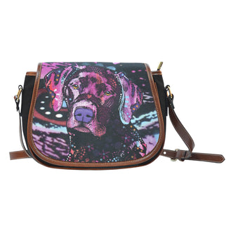 Labrador Saddle Bag - Dean Russo Art