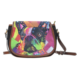 French Bulldog Saddle Bag - Dean Russo Art - Jill 'n Jacks