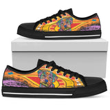 Maltese Women's Low Top Canvas Shoes - Dean Russo Art - Jill 'n Jacks