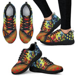 Golden Retriever Design Women's Athletic Sneakers - Dean Russo Art - Jill 'n Jacks