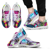 Pitbull Design Men's Sneakers - Dean Russo Art