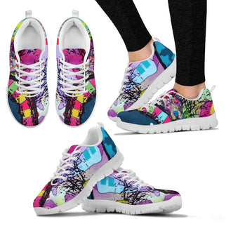 Pitbull Design Women's Sneakers - Dean Russo Art