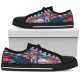 Pitbull Women's Low Top Canvas Shoes - Dean Russo Art