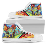 Chihuahua Men's High Top Canvas Shoes - Dean Russo Art - Jill 'n Jacks