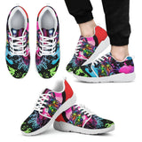 Schnauzer Design Men's Athletic Sneakers - Dean Russo Art