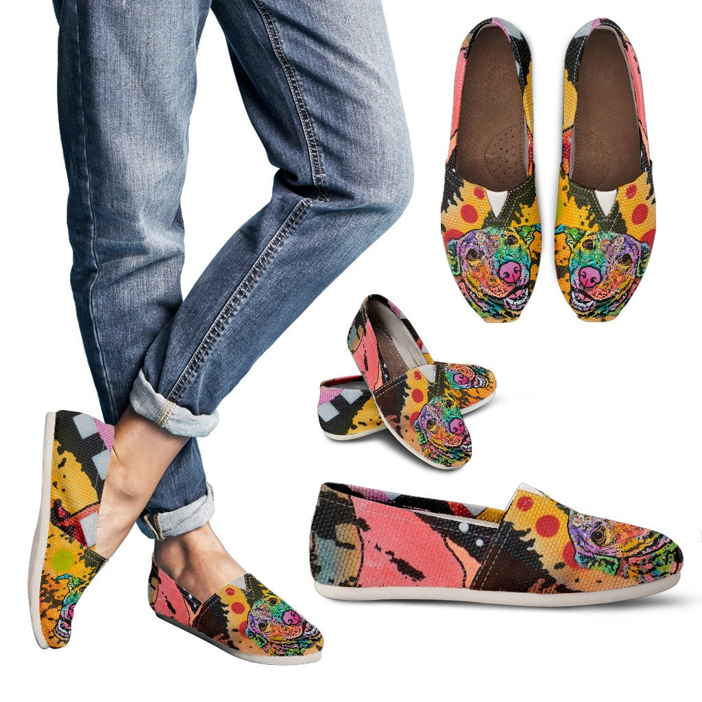 Labrador Design Women's Casual Shoes - Dean Russo Art