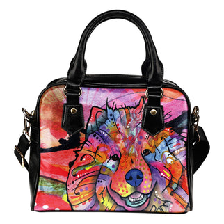 Chow Chow Shoulder Handbag - Dean Russo Art - Jill 'n Jacks