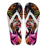 Cocker Spaniel Design Men's Flip Flops - Dean Russo Art - Jill 'n Jacks