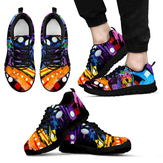 Westie Design Men's Sneakers - Dean Russo Art