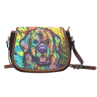 Newfie Saddle Bag - Dean Russo Art