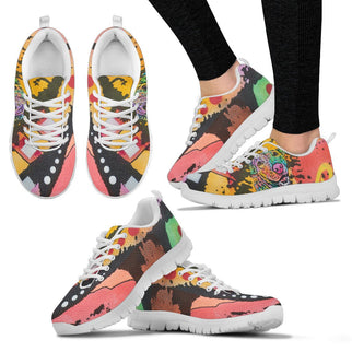 Labrador Design Women's Sneakers - Dean Russo Art