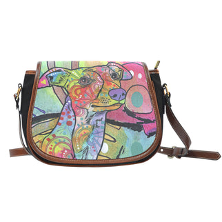 Whippet Saddle Bag - Dean Russo Art