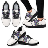 Jack Russell Terrier Design Women's Athletic Sneakers - Dean Russo Art