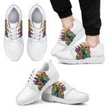 Bulldog Design Men's Athletic Sneakers - Dean Russo Art - Jill 'n Jacks