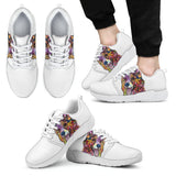 Corgi Design Men's Athletic Sneakers - Dean Russo Art