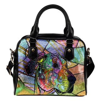 Great Dane Shoulder Handbag - Dean Russo Art