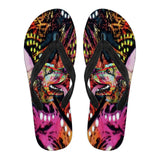 Cocker Spaniel Design Women's Flip Flops - Dean Russo Art - Jill 'n Jacks