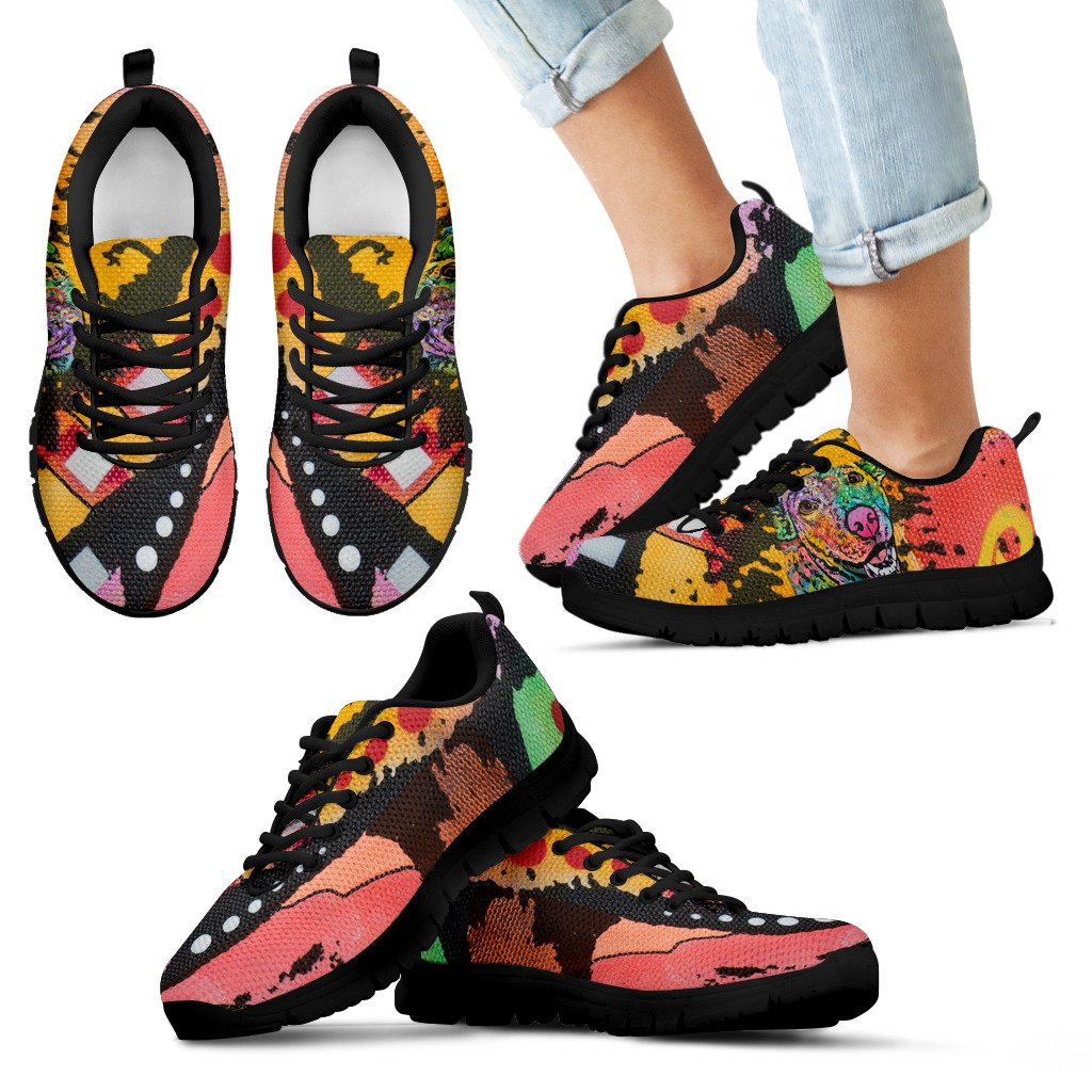 Labrador Design Kids Sneakers - Dean Russo Art - Jill 'n Jacks