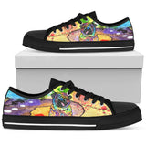 Pug Men's Low Top Canvas Shoes - Dean Russo Art
