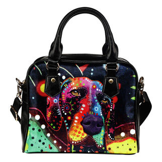 German Shorthaired Pointer Shoulder Handbag - Dean Russo Art - Jill 'n Jacks