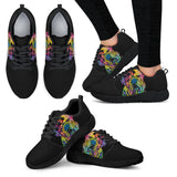 Bulldog Design Women's Athletic Sneakers - Dean Russo Art - Jill 'n Jacks