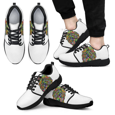 Shih Tzu Design Men's Athletic Sneakers - Dean Russo Art - Jill 'n Jacks